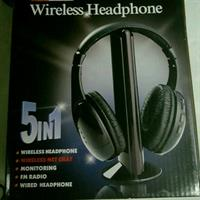 Wiresless Headphon 5 In I. Brand New.