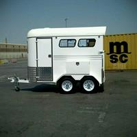 Used Horse Trailer New  0503442121 in Dubai, UAE