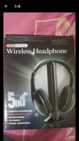 Used Wireless Headphone 5 in 1👌👌👌👌 in Dubai, UAE