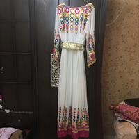 Long dress Have a belt Size L-XL