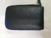 Genuine leather card  holders  black  x1
