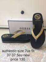 Used Guess flip flop new authentic in Dubai, UAE