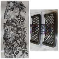 Used Mesh pocket 2 pcs and cool tattoo! in Dubai, UAE