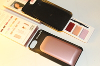 Make up kits, iPhone 6 Peach casing