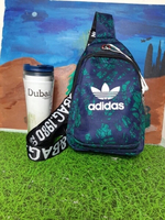 Used Adidas Chest Bag Green/Black in Dubai, UAE