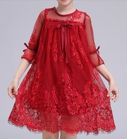 Used PATPAT sassy lace half sleeve dress in Dubai, UAE