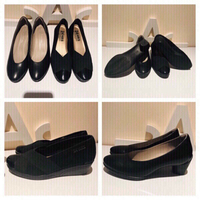 Used Ecco shoes & 24Hour wedge size 37 in Dubai, UAE