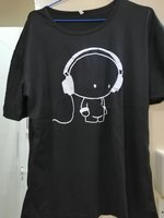 Used T-shirt black silk + free shades in Dubai, UAE