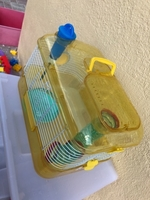 Used Hamster cage for sale  in Dubai, UAE