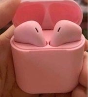 Used Airpods 2 pink colo mr high bass inpods  in Dubai, UAE