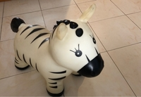 Used Inflatable zebra for babies  in Dubai, UAE