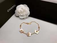 Chanel mother of pearl bracelet