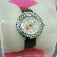 black small dail watch