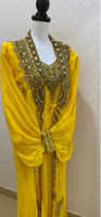 Used orange maghrabi dress Aladdin style in Dubai, UAE