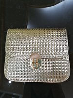 Used Golden cross body elegant bag in Dubai, UAE