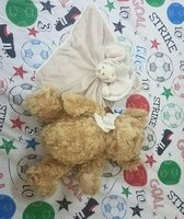 Used Teddy bear 2peices. in Dubai, UAE