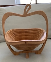 Used Fully foldable wooden basket  in Dubai, UAE