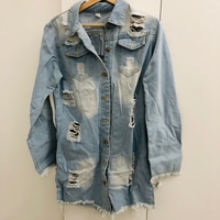 Used Funky denim jacket size 2XL in Dubai, UAE