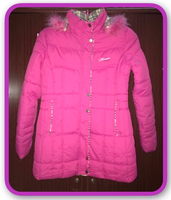 Used Pink Winter Jacket in Dubai, UAE
