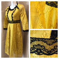 yellow gold dress M
