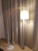 Used Standing lamp (wood and metal) in Dubai, UAE