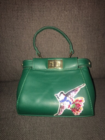 Used Fendi green handbag  in Dubai, UAE