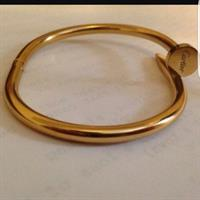 Used Cartier Gold Plated Bangles  in Dubai, UAE