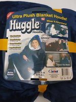 Used Huggle Hoodie Ultra Plush Blanket Hood in Dubai, UAE