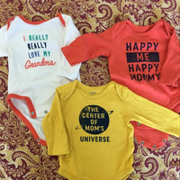 Baby Onesies Carter's Brand 0-3 Months Size