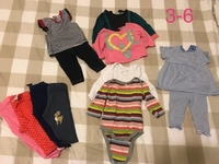 Used Baby Girl cloth 3-6 9-12 months in Dubai, UAE