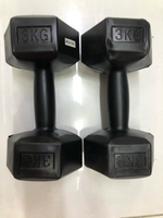 Used Dumbbells 3kg x 2../new✨✨ in Dubai, UAE