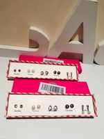 Used 2 box earrings with each 5 studs  in Dubai, UAE