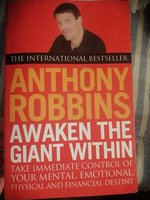 Used Anthony Robin's Motivational book in Dubai, UAE
