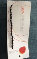 Used Pure amber baby teething bracelet NEW in Dubai, UAE