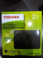 Used TOSHIBA 2 TB HARD DRIVE EXTERNAL in Dubai, UAE