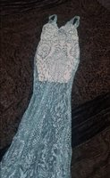 Used Gown Silver Size 12UK in Dubai, UAE