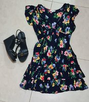 Used Complete outfit,dress and wedges in Dubai, UAE