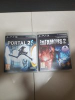 Used Ps3 portal 2 and infamous 2 cd in Dubai, UAE