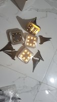 Used 8 LED solar Floor Light 4Pc in Dubai, UAE