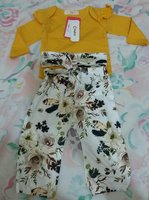 Used Floral Ruffled Ginger Romper set in Dubai, UAE