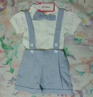 Used 2 pics Now Tie Romper set in Dubai, UAE