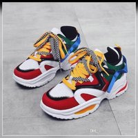 Used ew colorful star running shoes size 42 in Dubai, UAE