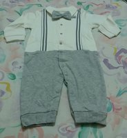 Used long sleeve cotton jumpsuit for BabyBoy in Dubai, UAE