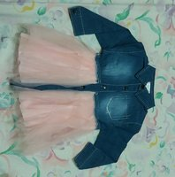 Used Baby Girl Mesh Dress in Dubai, UAE