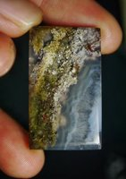 Used Beautiful Indonesian Picture Moss Agate in Dubai, UAE