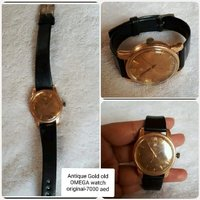 Used Antique ORIGINAL Gold OMEGA watch ' in Dubai, UAE
