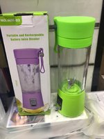 Used RECHARGEABLE BATTERY PORTABLE JUICER in Dubai, UAE