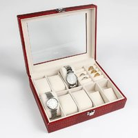 Used Red watches and jewelleries organizer in Dubai, UAE
