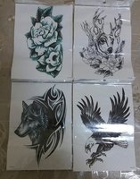 Used Fake Tattoo 6 pcs in Dubai, UAE