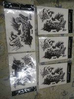 Used Waterproof temporary tattoos 5 pcs..,, in Dubai, UAE